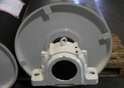 Tamburi per movimentazione sfusi tamburo rinvio diam 630 completo di contagiri e supporti