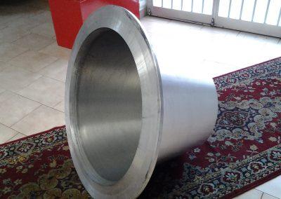 Costruzioni meccaniche Italmeccanica stampo per vaso in alluminio