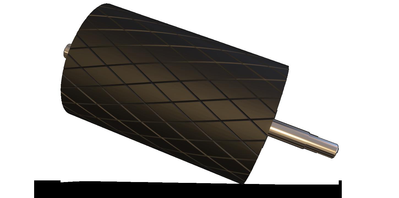 rulli e tamburi per nastri trasportatori movimentazione sfusi