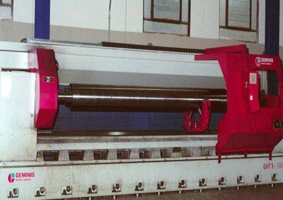 costruzioni meccaniche cilindro per laminazione diam 950 x 3130 mm