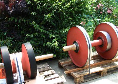 tamburi speciali fuori standard rulli rulli speciali gommati
